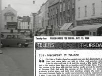 Discovery in Tralee was shown in 1966