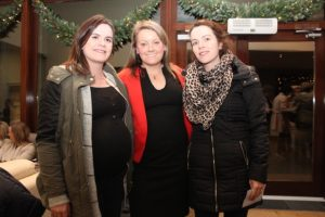 Treasa Murphy, Mary Moriarty and Fiona Murphy at the Cookery Demonstration for Ardfert NS in Ballyroe Heights Hotel on Thursday night. Photo by Dermot Crean