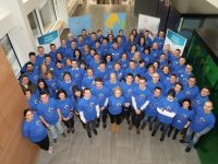Bank of Ireland staff are pictured at the single biggest Give Together Volunteer Day on November 30th where colleagues from across the country came together to volunteer in charity shops and warehouses for the bank's flagship charity partners.