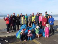 Volunteers Gather 27 Bags Of Rubbish In Beach Clean-up