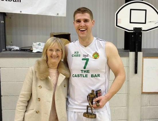 Mens MVP Jamie Lowham