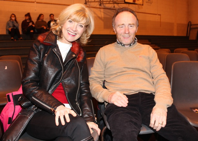 Geraldine and Bernard Gannon at the Mercy Mounthawk Fashion Show on Thursday night. Photo by Dermot Crean