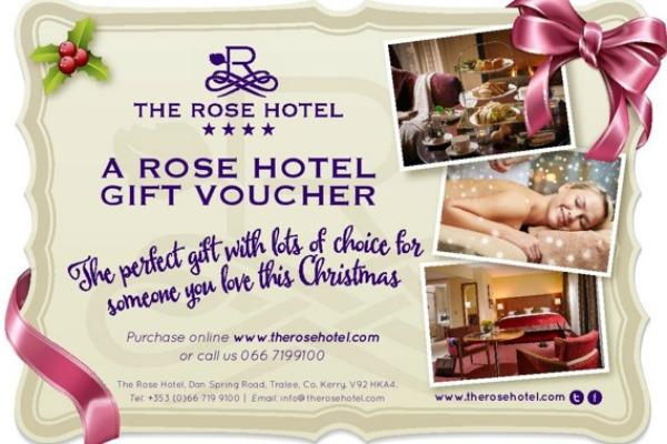 Rose Christmas Voucher