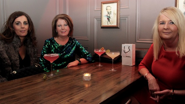 Kay Tansley, Mary Doody and Nora Lambe enjoying a night out at No.4 On The Square on Saturday night. Photo by Dermot Crean