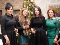 Trish O'Brien, Sinead Costello, Grainne Ryle and Ellen Enright of Lloyd's Pharmacy, Fairies Cross at The Rose Hotel on Saturday night. Photo by Dermot Crean