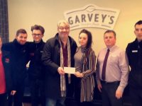 Garvey's Supervalu Presents Funds To Cycle Against Suicide