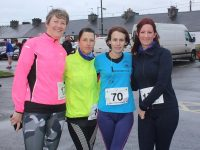 Attending the Kerins O'Rahilly's 10k run on Sunday were Maureen McAdam, Christine Brosnan, Linda O'Sullivan and Chille Vemossy. Photo by Lisa O'Mahony.