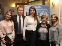 Attending the Lee Strand Garda Youth Achievement Awards were Heather Jones, Howard Jones, Alison Jones, Anne Jones, Anne-Marie Jones. Photo by Lisa O'Mahony.