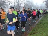 Participants take off at the Park Run in conjunction with Operation Transformation on Saturday morning. Photo by Dermot Crean