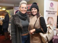 Yvonne Duggan and Lucy Horan at the Sam McCauley's Women's Health event at the Manor West Hotel on Thursday night. Photo by Dermot Crean