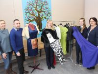 Looking forward to the 'New and Pre-Loved Clothes Sale' in aid of St Brendan's NS Blennerville this Saturday were teacher Edel O'Sullivan, Principal Terry O'Sullivan, pupils Sorcha O'Donoghue and Katie Moriarty and Maura O'Donnell of the Parents Council. Photo by Dermot Crean