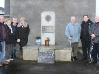 Attending the Memorial for Br John Conway were Sheila Conway, Paul McDonagh, Phil McDonagh, Phil Kelliher, Ann Sheehan, Eileen Tobin, Michael Conway, Pat Tobin. Photo by Lisa O'Mahony.