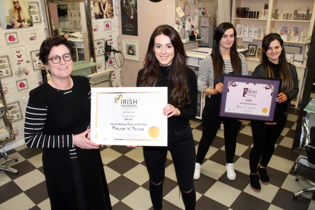 Tralee hair and beauty salon celebrates another award for A maureen mccarthy salon