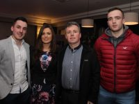 Shane Finn, Geraldine Brosnan, Tim Moynihan and Jamie Finn at the Energise 2017 event in The Ashe Hotel on Friday night. Photo by Dermot Crean