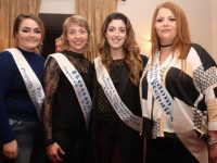 Shannon McInerney (ProPlan Property Management) Catriona Kennedy, Rose McGrath and Marcella Daly (Kingdom Crash Repairs) contestants in the Kerins O'Rahillys GAA Club 'Strictly Come Dancing' event. Photo by Dermot Crean