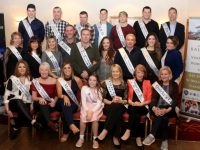 The contestants in the Kerins O'Rahillys GAA Club 'Strictly Come Dancing' event with choreographer Jackie O'Mahony (middle row, fourth from right). Photo by Dermot Crean