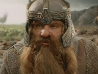 John Rhys-Davies as Gimli in Lord of the Rings.