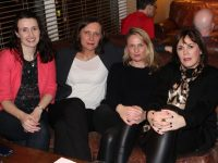 Treasa Murphy, Spela Cvar, Elaine Kinsella and Anne O'Neill at the 'Brains of Kerry' table quiz on Thursday night. Photo by Lisa O'Mahony.
