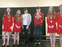 Please find attached a photo that I would like you to please inclu7de with our notes for the week. It is a picture of Blennerville/Balllyard U16 Group singers, who won silver in their category yesterday in Abbeydorney yesterday.