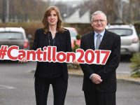 Dr Oliver Murphy, President, Institute of Technology Tralee and Ruth McCarthy, CEO, FEXCO Corporate Payments pictured at The Rose Hotel in Tralee ahead of the Cantillon Conference 2017.