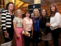 Liz Kelly Regan, Bridget Quirke Doherty, Martina O'Brien O'Donoghue, Pauline McCarthy O'Donoghue, Dyanne Wallace O'Shea and Tracy Bolger at the Kerins O'Rahillys GAA Strictly Come Dancing event at the Brandon Hotel on Saturday night. Photo by Dermot Crean