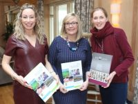 Fiona Leahy, Kerry Local Enterprise Office, Lisa O'Carroll, Kerry Local Enterprise Office, and Joanne Riordan, Irish MoneyPenny at the Employment Law and HR seminar at Ballygarry House Hotel on Tuesday. Photo by Lisa O'Mahony.