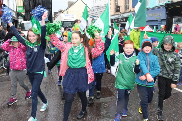 at the parade on Friday. Photo by Dermot Crean
