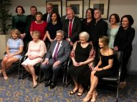 Ted and Breda Moynihan and Family and the Committee of the Kerry Association in Dublin