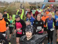 Runners set off on the Tralee half and full marathon from Tralee Bay Wetlands on Saturday morning. Photo by Dermot Crean