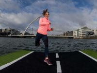 REPRO FREE***PRESS RELEASE NO REPRODUCTION FEE*** 2017 Vhi Women's Mini Marathon - Open For Entries, River Liffey, Dublin 28/2/2017 Pictured is Amanda Byram, a member of the Vhi Support Team who announced today that the 2017 Vhi Women's Mini Marathon is now open for entries! Celebrating 35 years, this year's event will see over 35,000 women walk, jog or run through Dublin city on Bank Holiday Monday, 5th June 2017. Participants can enter at www.vhiwomensminimarathon.ie and can also access the latest training plans, recipes and expert advice from the Vhi Support Team! Mandatory Credit ©INPHO/Morgan Treacy