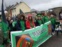 Churchill GAA Club at the St Patrick's Day Parade.