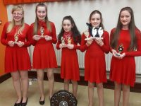 Blennerville Ballad group who won in the North Kerry Semi finals of Scor na bPaisti last Friday.