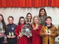 St Pats Novelty Act, who are through to the finals of Scor na bPaisti in Foilmore on March 26.