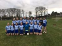 Ballymac Girls Under 16 league Division 3 V Glenflesk, on Tuesday April 4.