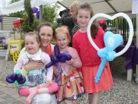 Katie, Aisling, Debbie, and Lucy Dillon at the Family Fun Day at Ballyseedy Home and Garden Centre on Saturday. Photo by Lisa O'Mahony.