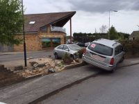 Gardaí In Tralee Make Arrest After Car Crashes Into Wall