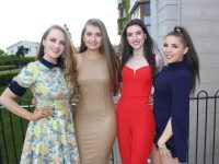 Contestants, Shannon O'Sullivan. Carol Lane, Gabriella Ward and  Holly Ring, in the 2017 Miss Kerry Competition. Photo by Lisa O'Mahony.