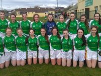 Na Gaeil Team that defeated Rathmore in the Mary Jo Curran Cup at the weekend.