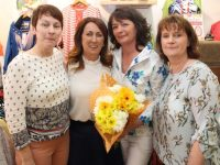 Eileen Whelan and Paco staff at the Paco Fashion and Coffee morning on Friday. Photo by Dermot Crean