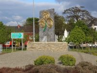 The New Stone Monument At Ballymullen Roundabout Looks Great