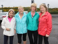 Joan Dillon, Marie Rolls, Rosalind Moore, and Anne Tarint at the Spa/Fenit Good Friday Walk. Photo by Lisa O'Mahony.