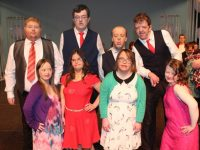 Performers in the St John of God production 'An Evening of Musicals' were Wendy Hardy, Janet O'Donoghue, Jessica Power, Amy Lynch, Jason McCarthy, Paul O'Sullivan, Alan Murray and Micheal O'Leary. Photo by Lisa O'Mahony.