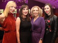 Edel Fitzgerald, Jean O'Hara, Helen Leahy and Claire Kelliher at the Ardfert NS Strictly Come Dancing in the Ballyroe Heights Hotel on Saturday night. Photo by Dermot Crean