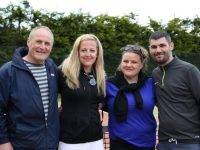 Tralee Tennis Club members Timmy Hennessey, Sorcha Finnegan, Gemma Lougheed and Shane Roche who made the final of the Lakewood Open series.
