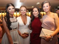 Katelynn McCarthy, Sinead Shanahan, Jenny Godley and Susie de Rís at the Brookfield College Graduation Night on Thursday in the Ballyroe Heights Hotel. Photo by Dermot Crean