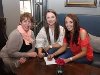 Maria O'Regan, Siobhan Ryan and Michelle Culloty at CBS Primary School Parents Association table quiz in the Ashe Hotel on Thursday night. Photo by Dermot Crean