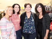Lorraine Sheehan, Geraldine Cotter, Siobhan McElligott and Eilish Flaherty  at The Skin Doctor event in CH Chemists on Saturday afternoon. Photo by Dermot Crean