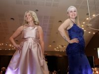 Mommies on the runway wearing fashions from Hannons Castleisland at the Caherleaheen NS Fashion Show at the Ballyroe Heights Hotel on Thursday night. Photo by Dermot Crean