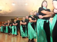 Dancers taking part in the  Churchill GAA 'Strictly Come Dancing' event in the Ballyroe Heights Hotel on Sunday night. Photo by Dermot Crean
