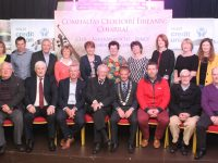 The committee and well wishers of the Fleadh Cheoil Chiarraí 2017 at the launch of the event at The Ashe Hotel on Friday night. Photo by Dermot Crean